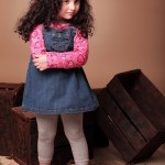 Warm cloths for children 2013 - beautiful dresses for winter 2013 - dresses for girls