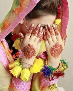 Wedding Mehndi for bride