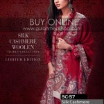 Winter woolen dresses by Gul Ahmed