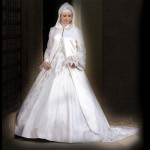 arabic wedding gown 2012-2013