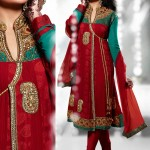 Bridal anarkali frock designs