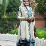 Bridal lehnga with long shirt