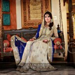 Latest bridal long shirt lehnga 2013 – pakistani wedding dresses