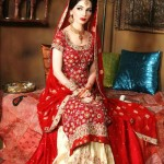 Bridal long shirts pakistan
