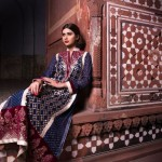Dress designs by threads and motifs &#8211; Pakistani dresses 2013