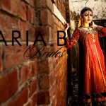 Embroidered bridal frock designs for women