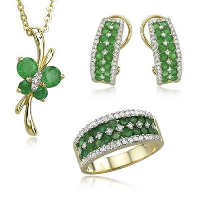 Emerald jewelry trends 2013