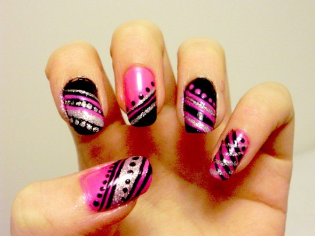 Latest Nail Art Designs 2012 2013 Nail Polish Designs For Girls