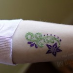 Glitter tattoos for arms