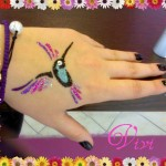 Glitter tattoos for kids