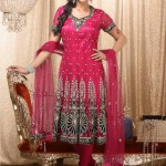 bridal frock in Indian style