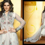 Indian party wear dresses by Roopam 2012-2013 – Latest frock designs