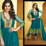 Indian frock designs by Roopam