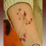Latest glitter tattoo designs