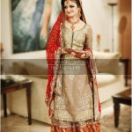 Indian bridal Long shirt with lehnga
