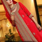 Pakistani bridal long shirt dresses