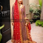 Pakistani wedding dresses 2013