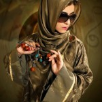 Stylish abaya designs 2013