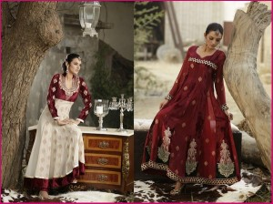 Stylish dresses by threads and motifs