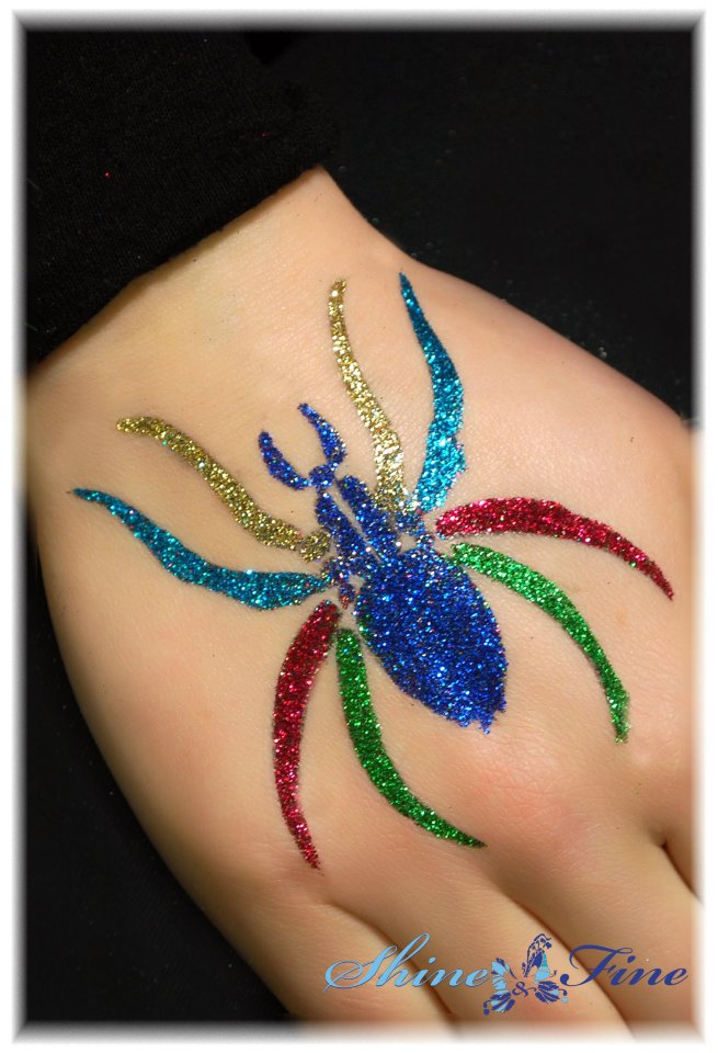 latest glitter tattoo designs shimmery temporary tattoos
