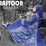 Winter abaya designs by mastoor