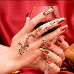 nail art designs and latest trends for brides