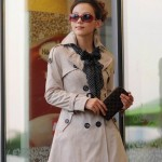 slim trench coat 2012