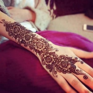 Arm mehndi designs