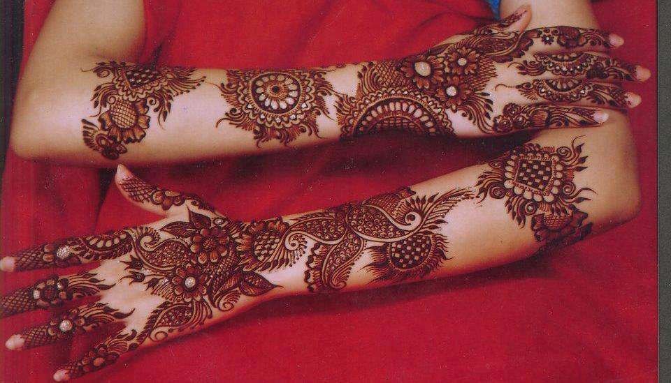 Mehndi For Thin Hands : New bridal mehndi designs in for hands and feet