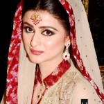Beautiful bridal walima makeup