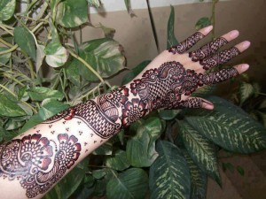 Bridal heena designs
