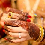 Bridal mehandi for hands