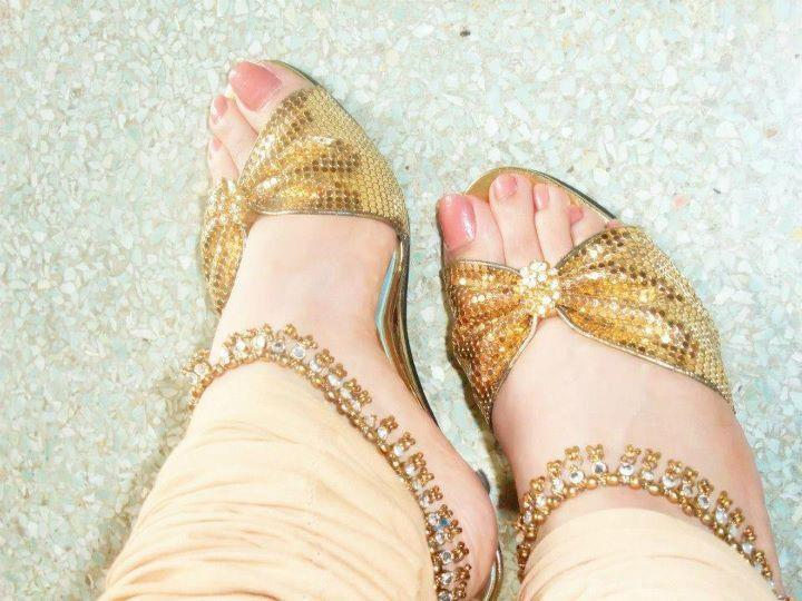 Mehndi Bridal Shoes : Bridal shoes designs and trends in pakistan latest asian