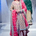 Bridal walima dress by zainab sajid 2013 collection