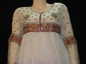 Fancy pakistani frock