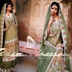 Green bridal dress by rizwan moazzum