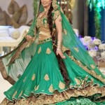 Green bridal dresses 2013