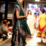 Green bridal dresses pakistani