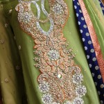 Fancy party dresses 2013  Pakistani embroidered dresses