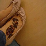 Heena for feet - New Mehndi Designs