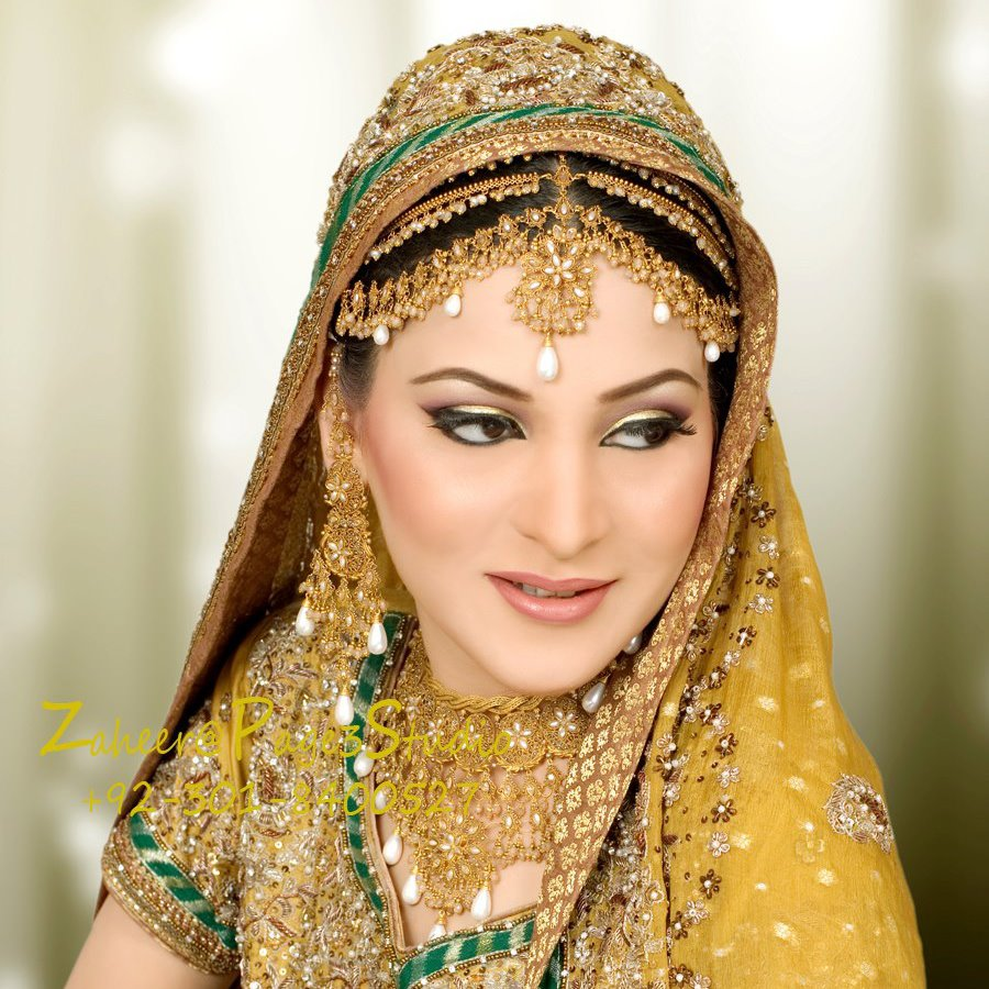 Hairstyles Pakistani Waleema: Pakistani Bridal Makeover