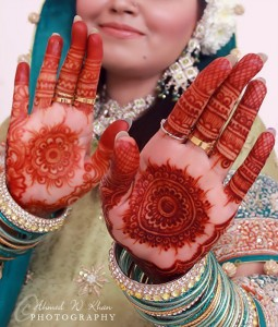 Indian mehndi designs for brides