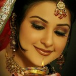 Latest bridal walima makeup trends