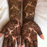 Latest designs of bridal mehndi