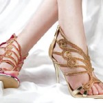 Latest designs of bridal shoes