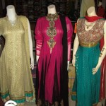 Latest embroidered dresses