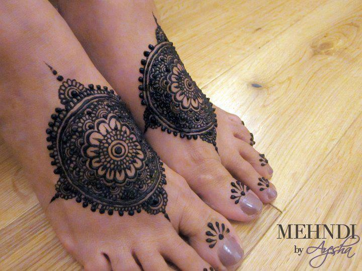 Bridal Mehndi On Foot : New bridal mehndi designs in for hands and feet