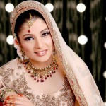 Light bridal walima makeup