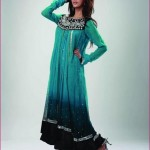 Madiha Noman Formal Wear green Dresses