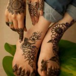 Mehndi designs for hands and feet